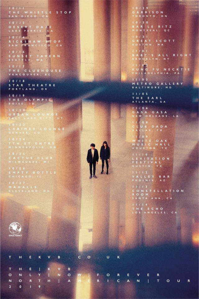 The KVB NA tour poster