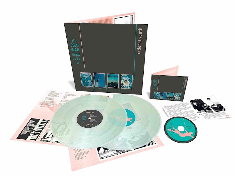 Rational Youth Cold War Night Life artwork vinyl + CD
