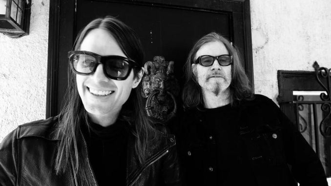 Mark Lanegan and Wesley Eisold Press photo
