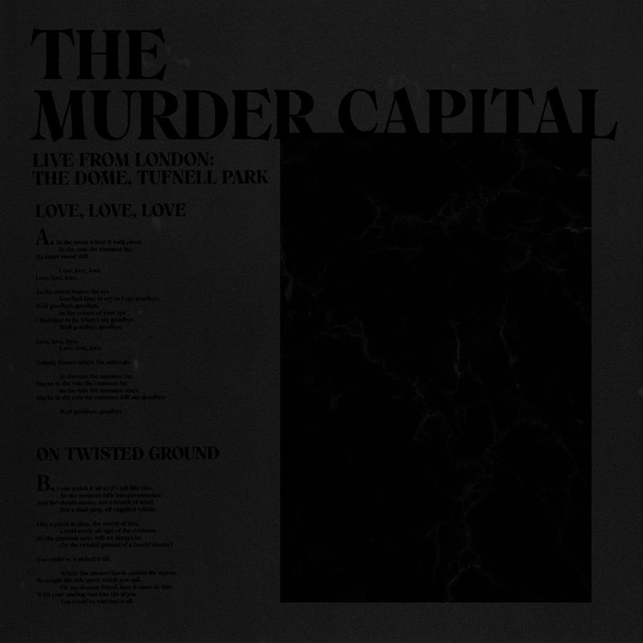 """The Murder Capital Record Store Day 12"""" cover"""
