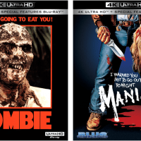 Blue Underground announce release of 'ZOMBIE' and 'MANIAC' on 4K UHD Blu-ray