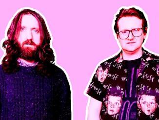 Young Knives pink press photo