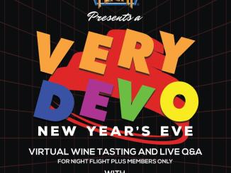 A Very Devo New Year's Eve Poster