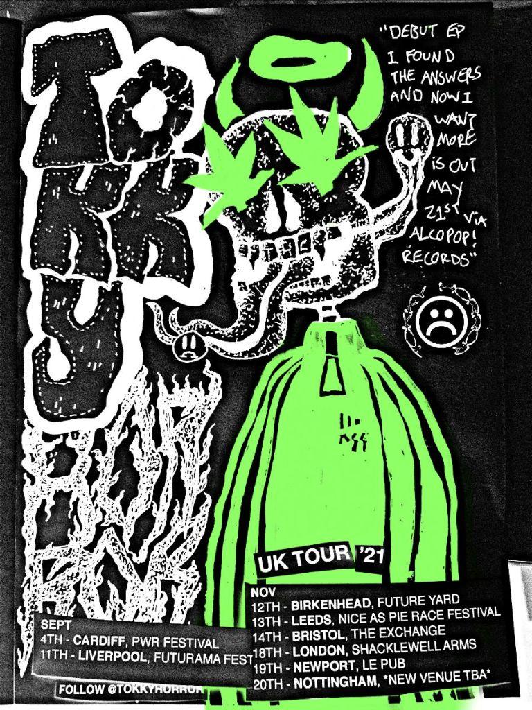 TOKKY HORROR live poster