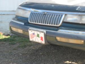 MX-US license plate