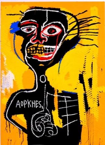 Jean-Michel Basquiat - Cabeza