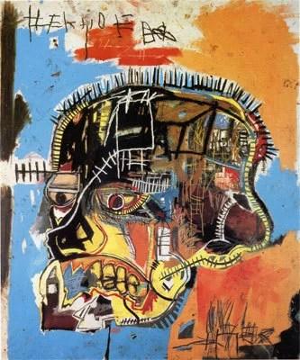 Jean-Michel Basquiat - Untitled (Skull), 1984