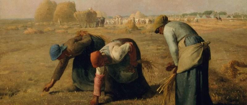 Millet Les Glaneuses