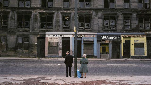Raymond Depardon Glasgow, Écosse Magnum Photos