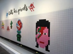 © Invader/Musée en Herbe – Hello My Game Is