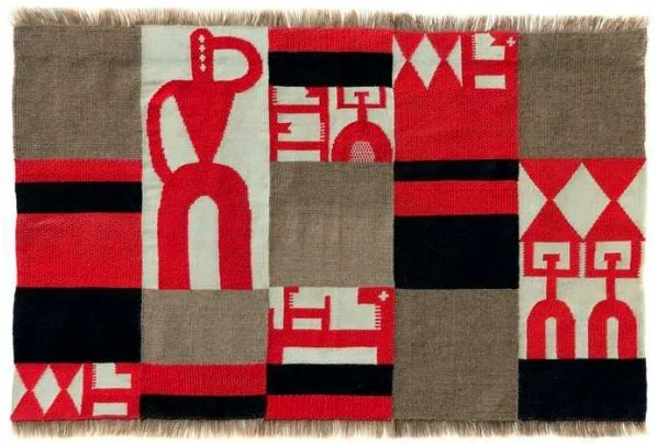 Dada Africa, Sophie Taeuber-Arp, Composition verticale-horizontale