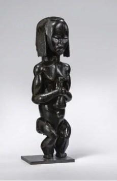 Statuette de gardien de reliquaire, Gabon