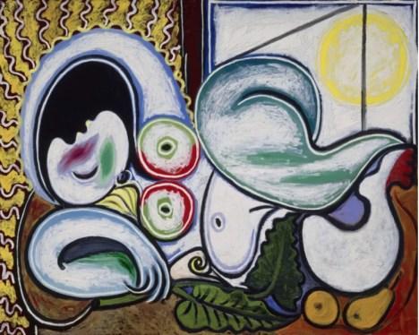 Pablo Picasso, «Nu couché», 4 avril 1932. Huile sur toile Paris, musée national Picasso-Paris. Photo © RMN-Grand Palais (musée national Picasso-Paris) / René-Gabriel Ojéda © Succession Picasso - Gestion droits d'auteur Fichier RMN : 97-021209