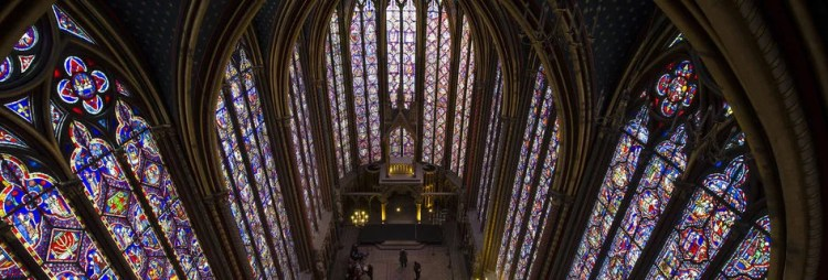 Sainte-Chapelle, vue panoramique