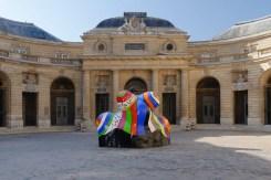 Niki de Saint Phalle, Nana-maison II, 1966-1987. Vue de l'exposition (Cour d'honneur) © Niki Charitable Art Foundation/Adagp, Paris, 2017 © Monnaie de Paris - Aurélien Mole