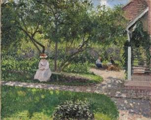 Camille Pissarro, Coin de jardin à Éragny
