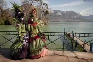 Carnaval vénitien d'Annecy, Jardins de l'Europe © Olivier Puthon