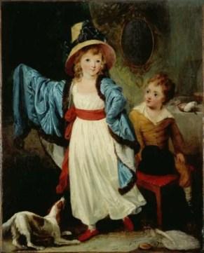 William Artaud, Les enfants déguisés dit Les Atours, huile sur toile, vers 1790, Paris, musée Cognacq-Jay (J 67), ©Musée Cognacq-Jay/Roger Viollet