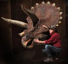 Tricératops © Musée Miniature et Cinéma de Lyon