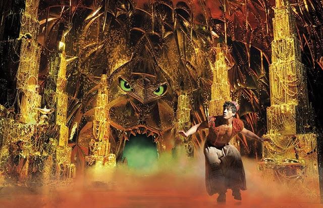 Aladdin The Musical   London