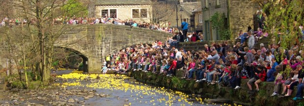 hebden duck race
