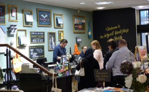 My first book signing event | Val McDermid Insidious Intent