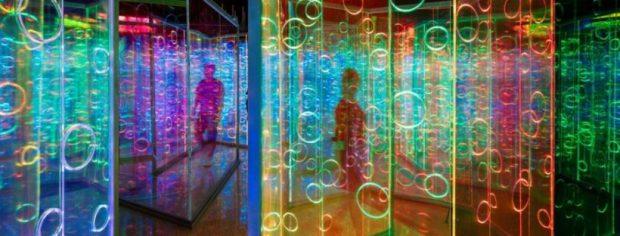 Heofon Light Maze