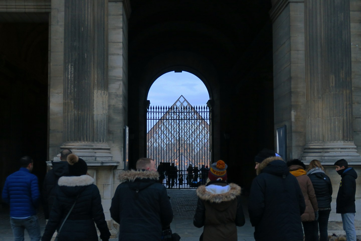 2 days in Paris - louvre