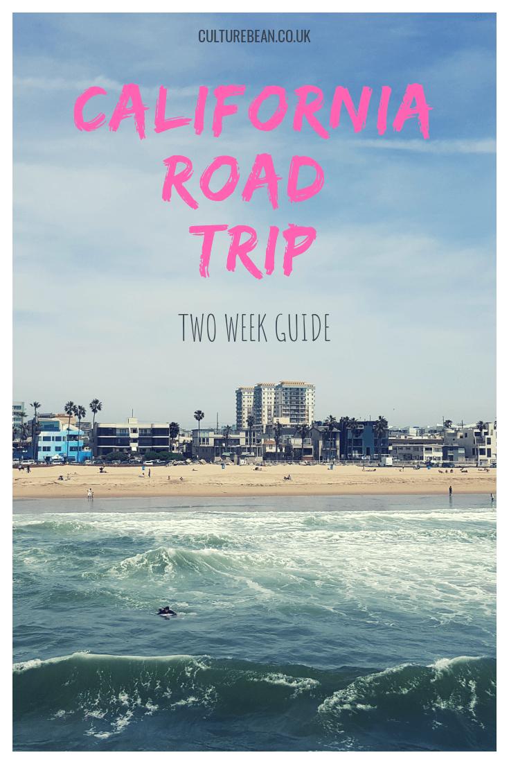 california road trip guide