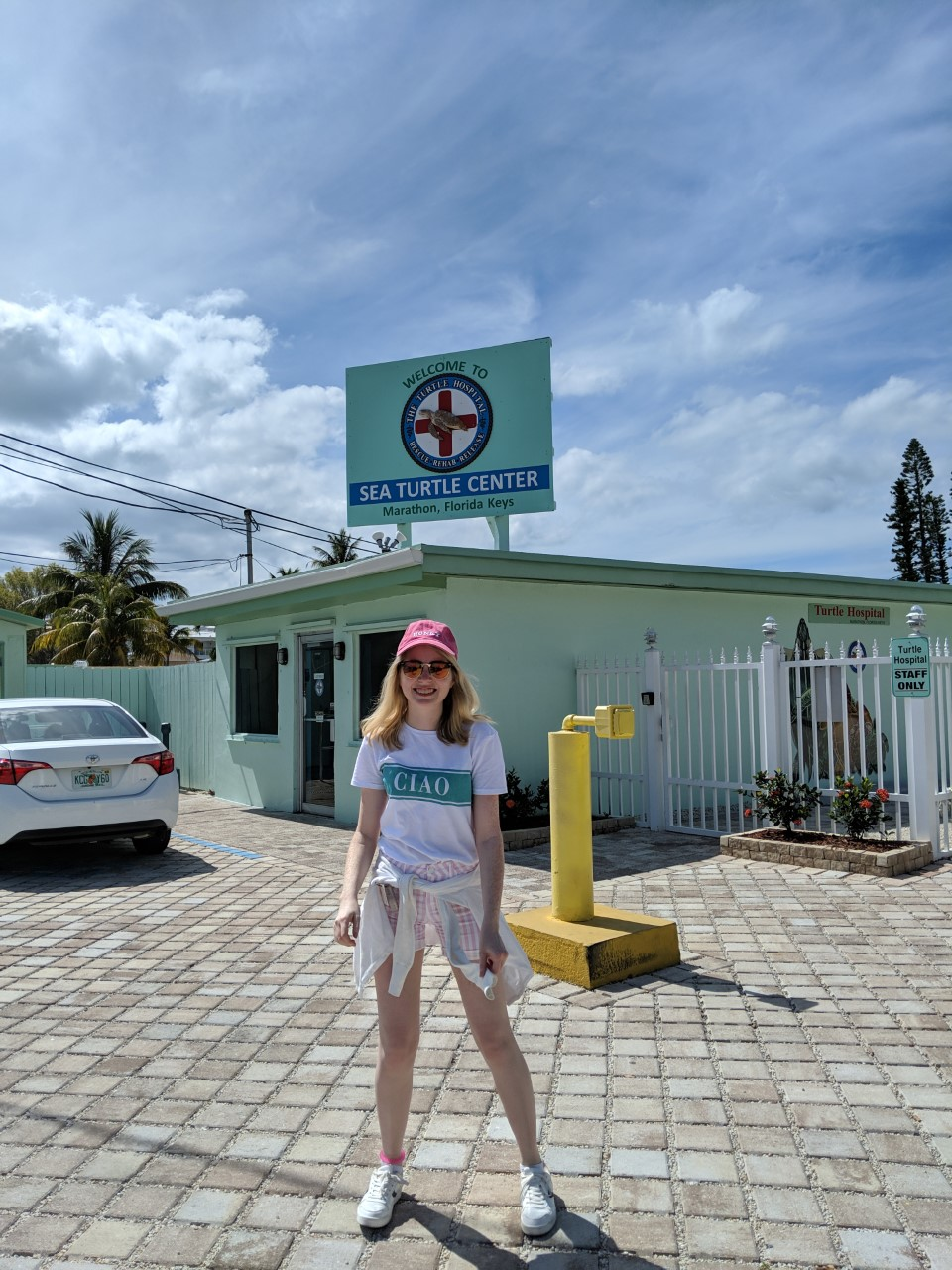 outside the turtle hospital in marathon, florida