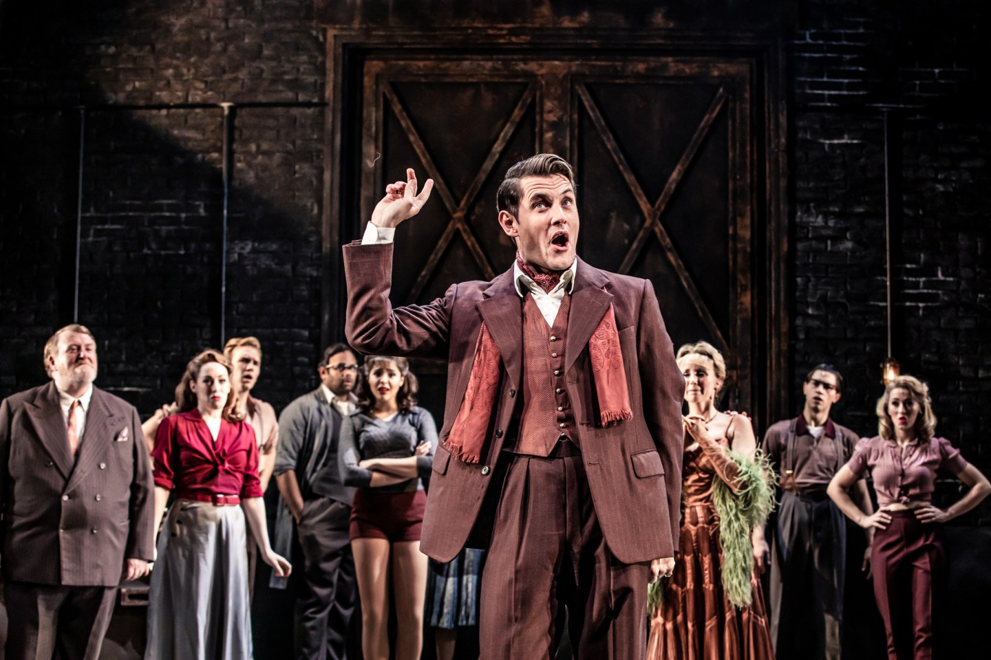 curtains musical review