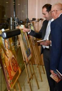 Изложба «Светлост иконе – изложба српског иконописа у Москви»