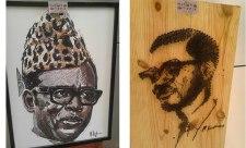 Un Lumumba avec les clous ? Devoir de mémoire ou simplement un bas-relief.