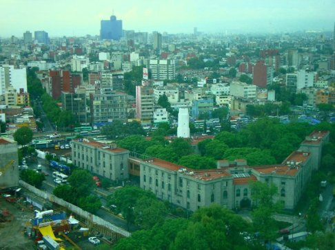 Mexico City By Day