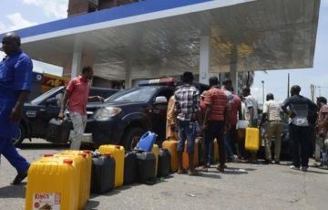 Fuel Scarcities in Lagos, Nigeria