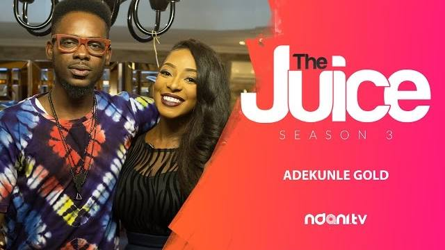 DSF and Adekunle Gold on the Juice Season 3 Episode 3