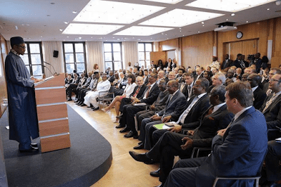 Buhari and Nigerian Community in ghana