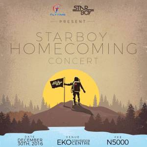 Starboy Homecoming Concert: December 30th @Eko Convention Center