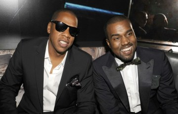 Jay Z and Kanye, the magic iPod