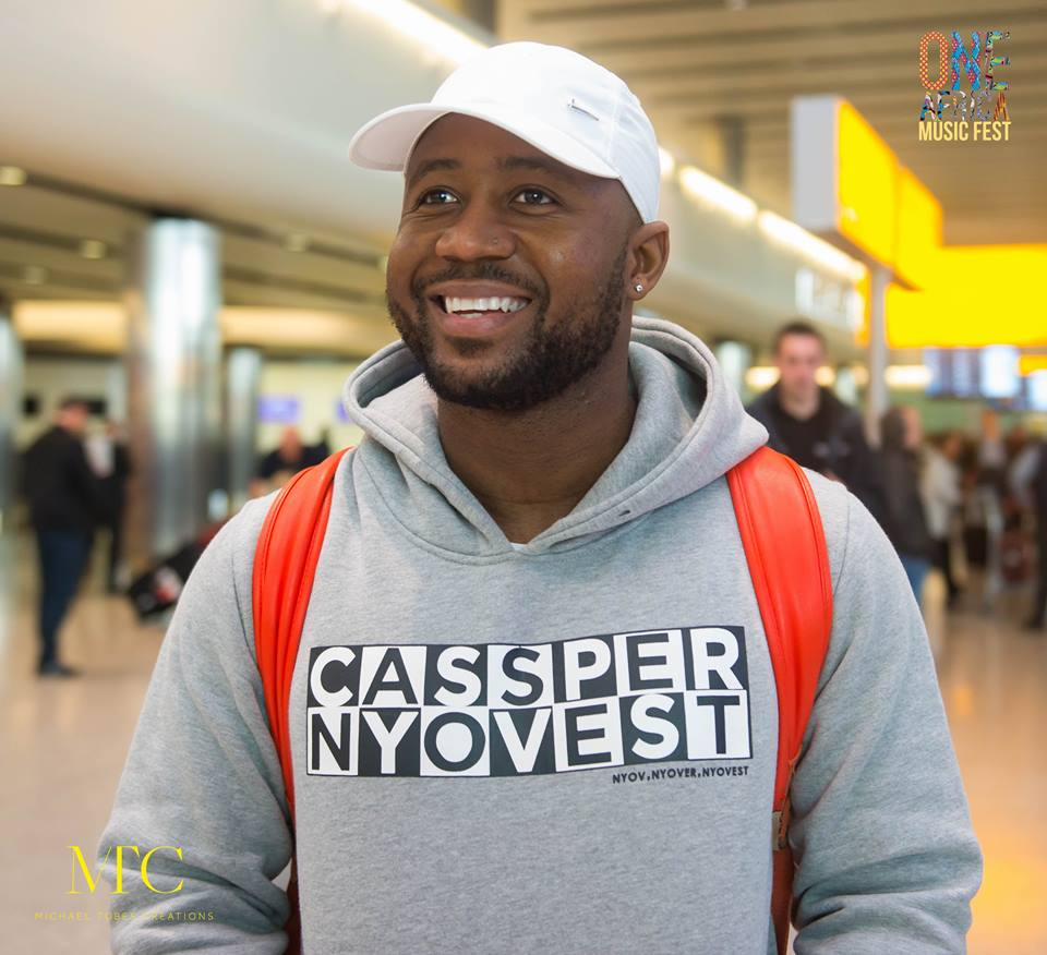 cassper nyovest arriving in London for the One Africa Music Festival