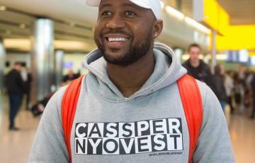 cassper nyovest arriving in London for the One Africa Music Festival
