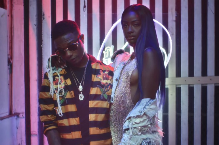 Listen to Wizkid and Justine Skye's refix to Mr Eazi's Skintight