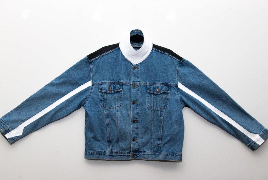 Opaque Spectrum The Future Is Grey Minimalist Rider Jacket
