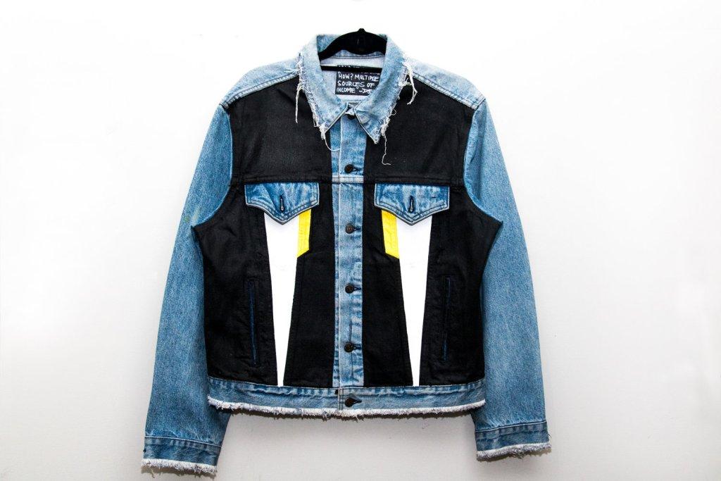 Opaque Spectrum Restless Mind Series Denim Jacket