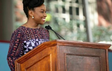 Chimamanda Talks Culture of Outrage at Harvard 2018 Commencement