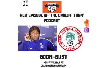 Listen to Talk on Chelsea and the Super Eagles on Boom - Bust
