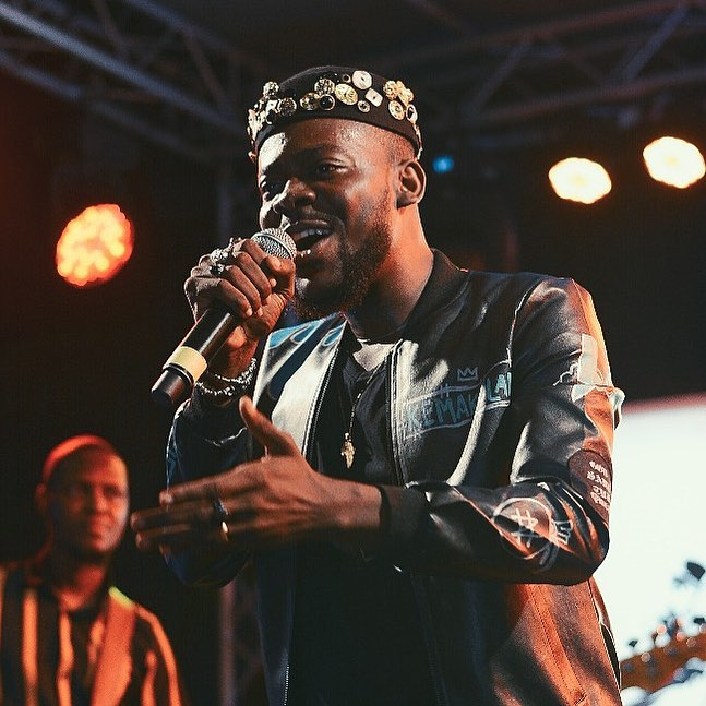 Adekunle Gold Goes Futuristic For Surrenda off his About 30 album