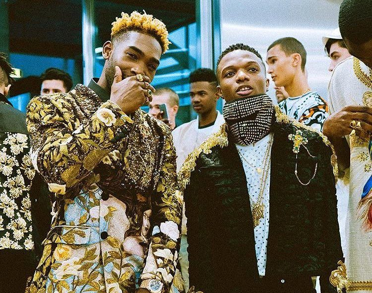Wizkid Walks Runway for Dolce & Gabbana in Milan With Tinie Tempah