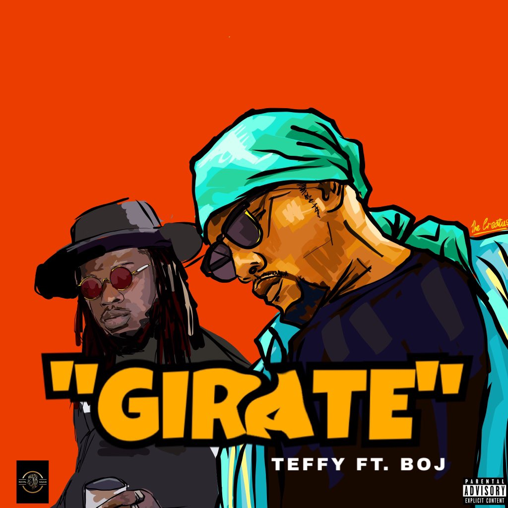 Teffy and Boj team up on Girate