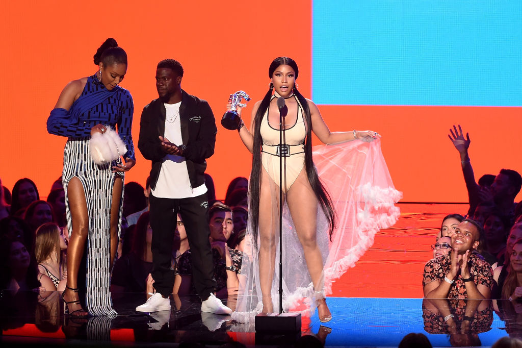 Nicki Minaj at the 2018 MTV VMAs